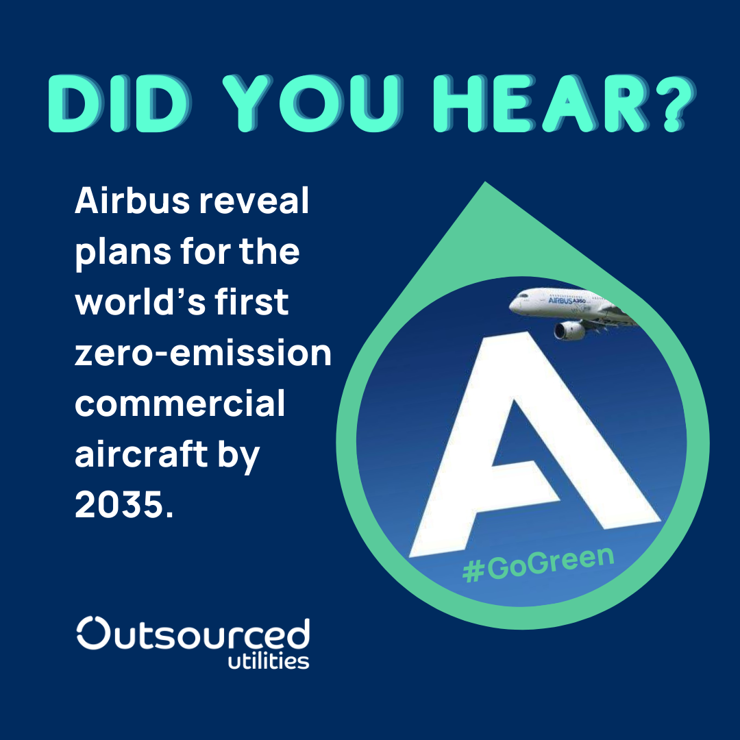 Airbus Zero Emission Aircraft - Reduce Carbon Footprint