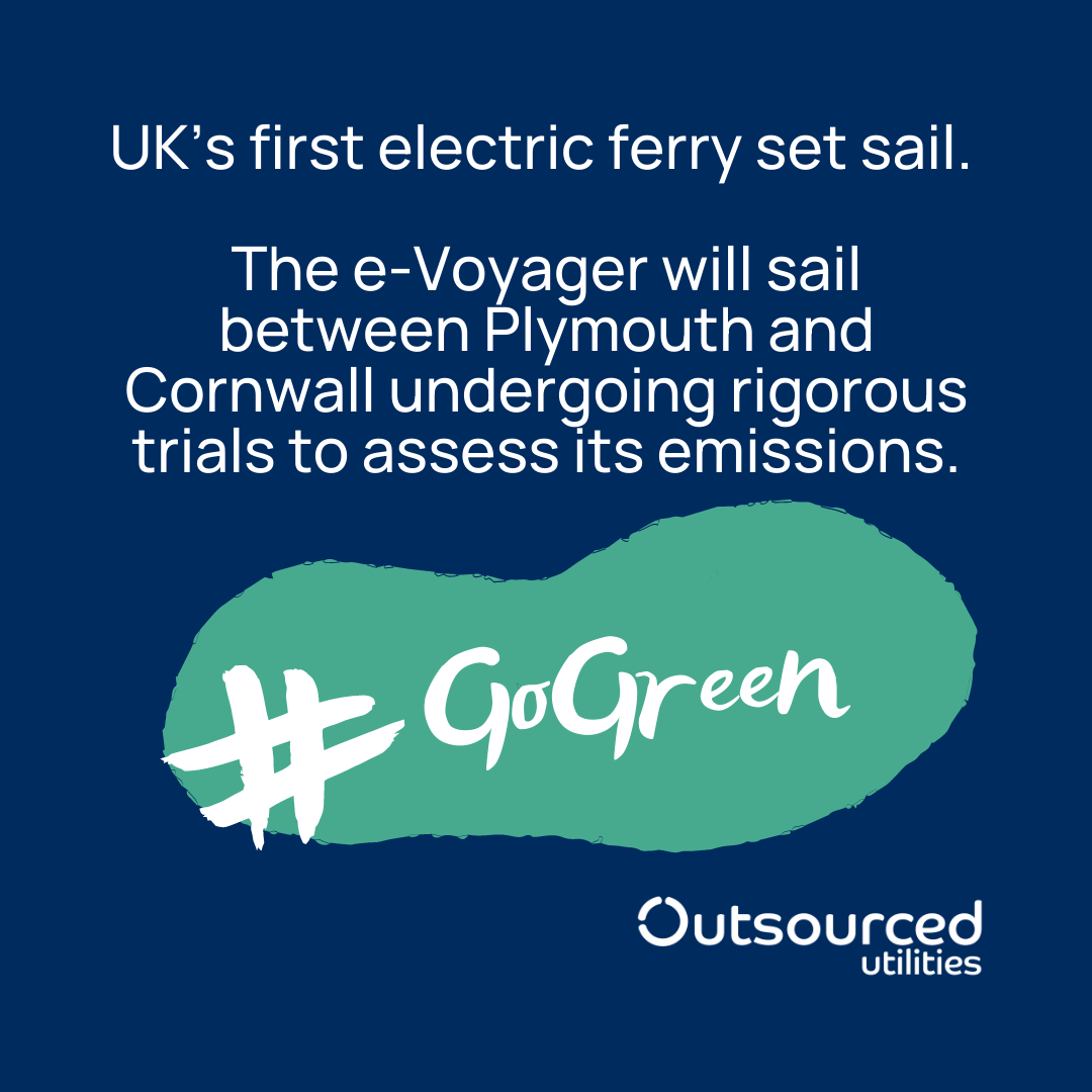 UK firsts Electric Ferry sustainable and zero emissions