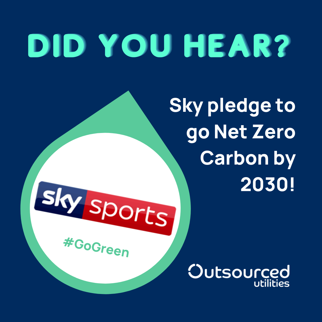Sky pledge to go net zero by 2030