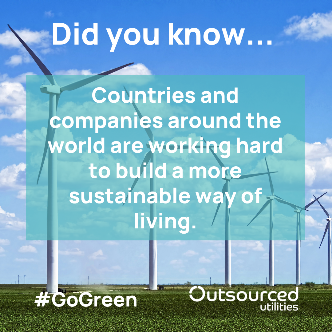 Counties and Companies leading the way in sustainable energy